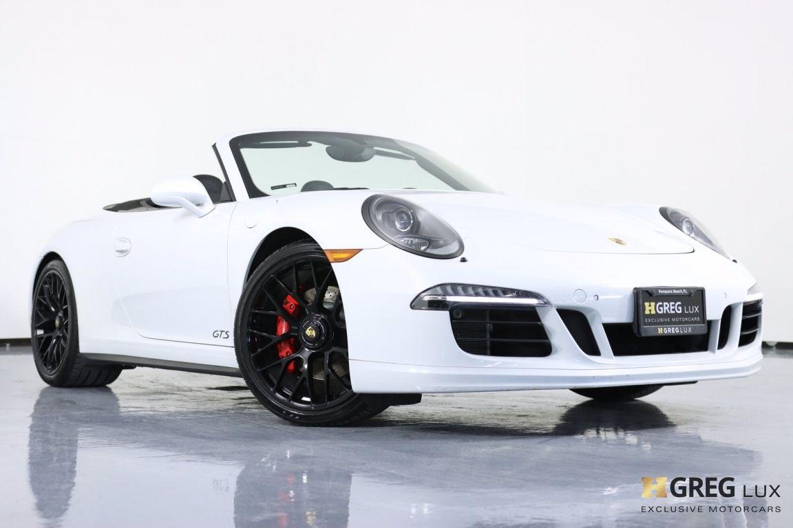2015 Porsche 911 Carrera GTS #35