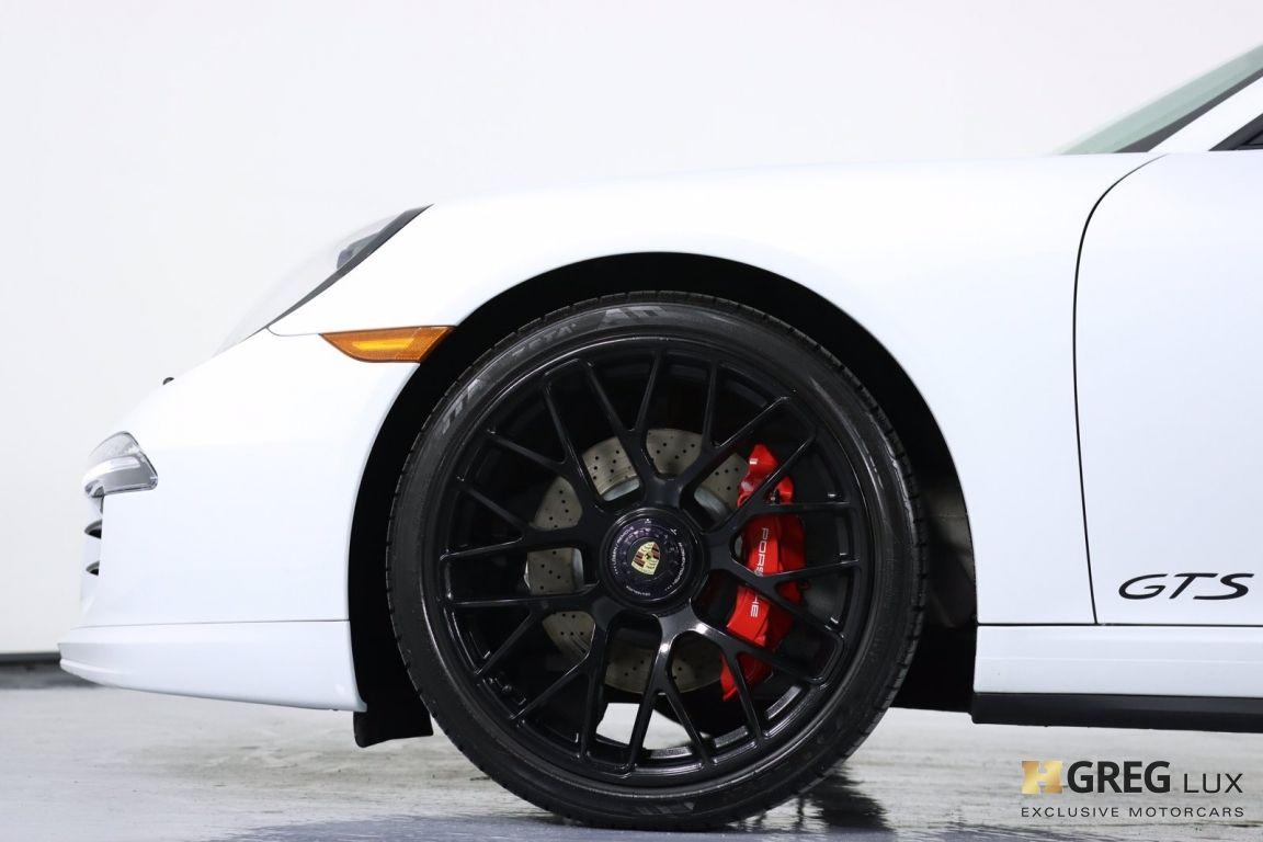 2015 Porsche 911 Carrera GTS #27