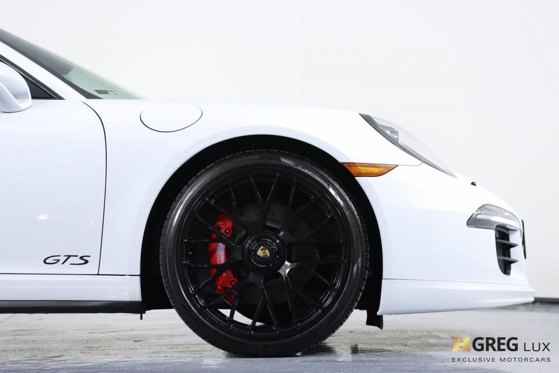 2015 Porsche 911 Carrera GTS #13