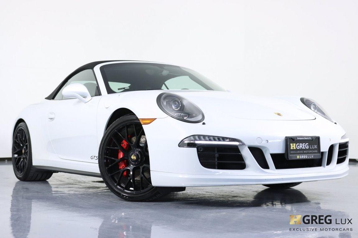 2015 Porsche 911 Carrera GTS #34