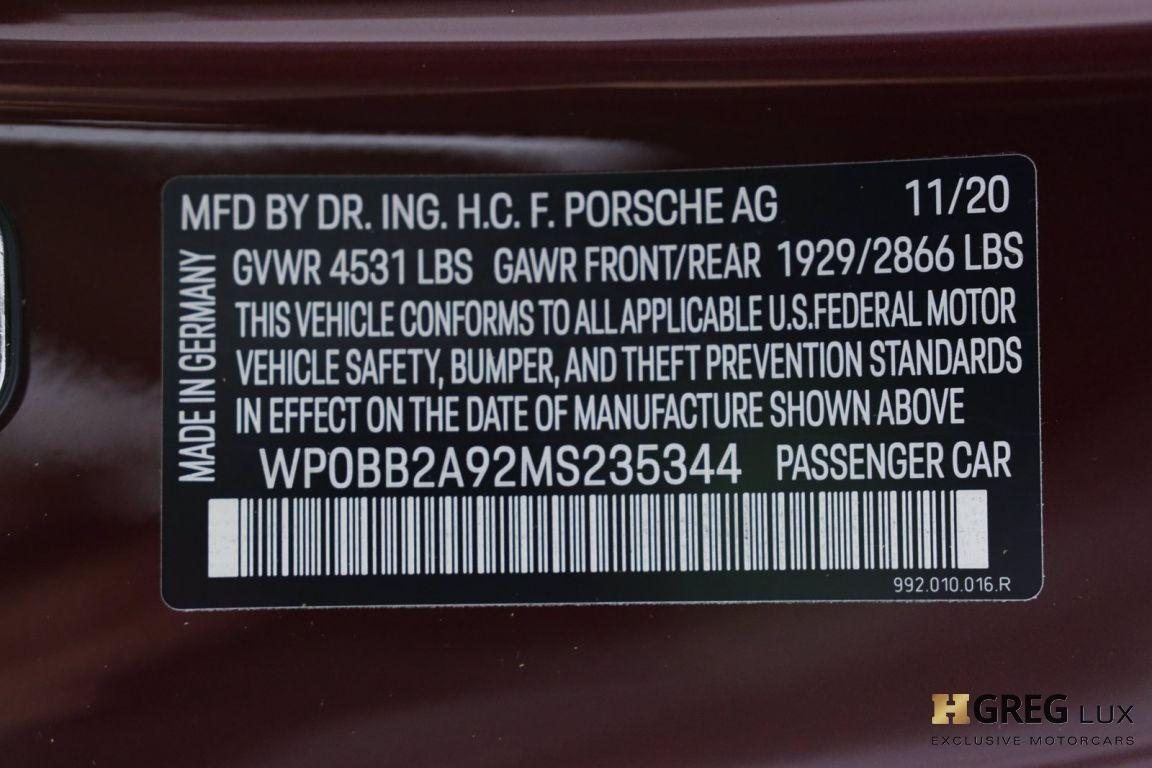 2021 Porsche 911 Targa 4S Heritage Design Edition #75