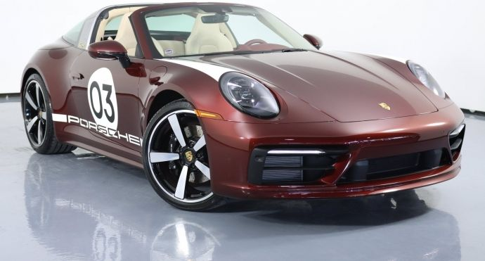 2021 Porsche 911 Targa 4S Heritage Design Edition #0