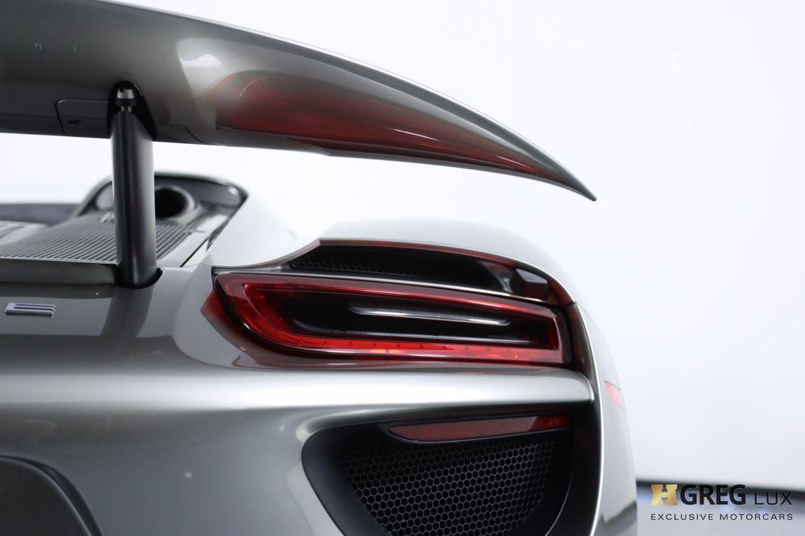 2015 Porsche 918 Spyder  #23