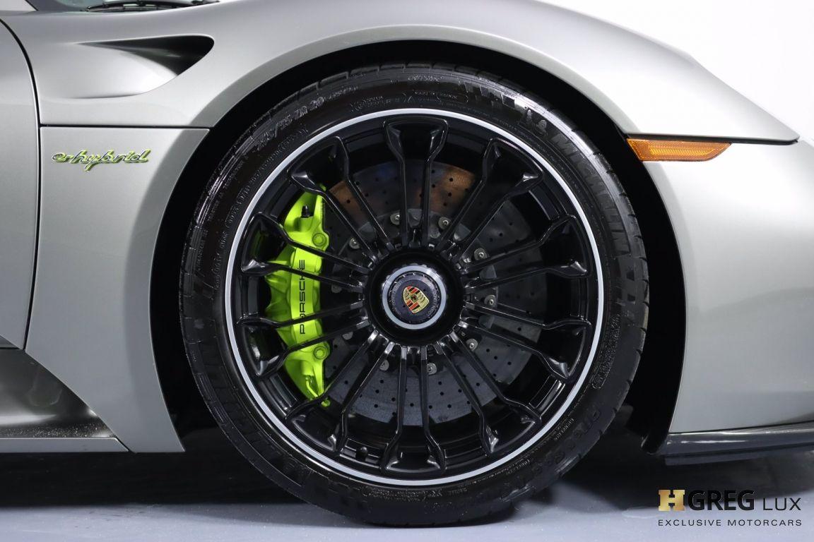 2015 Porsche 918 Spyder  #12