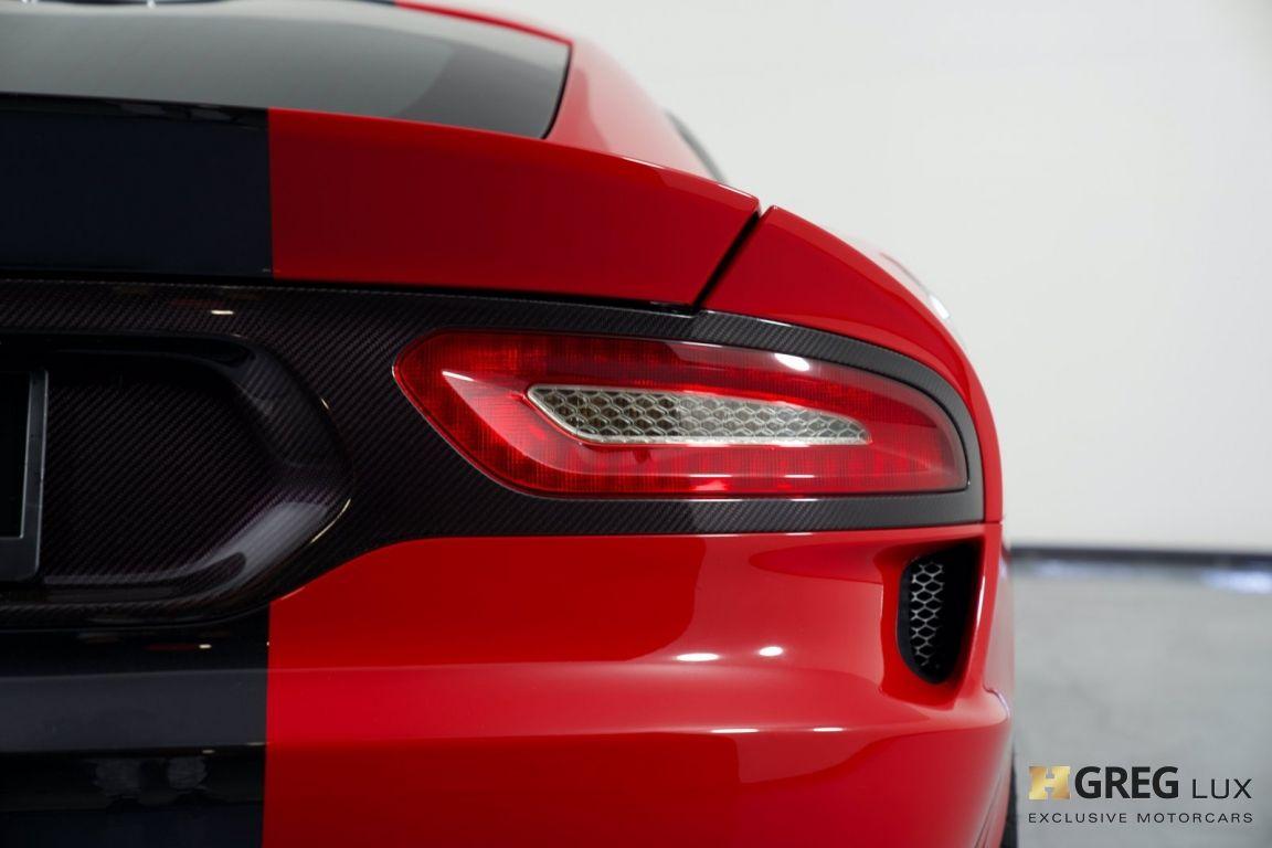 2014 Dodge SRT Viper GTS #16