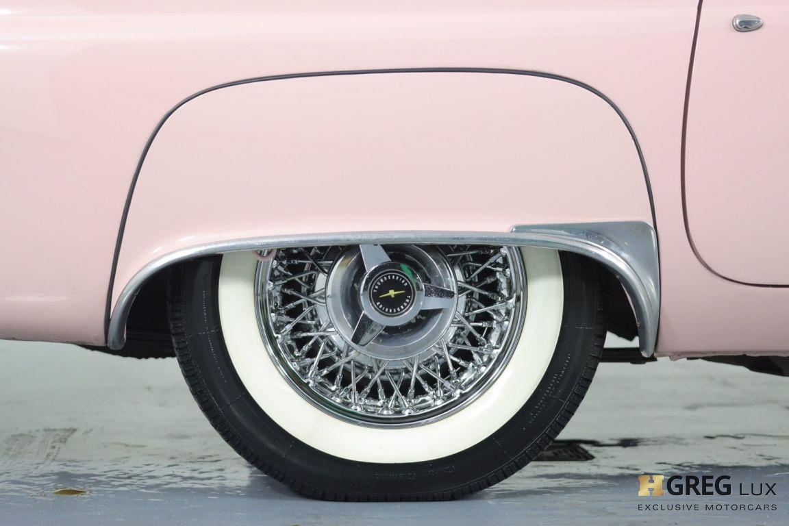 1957 Ford Thunderbird  #14