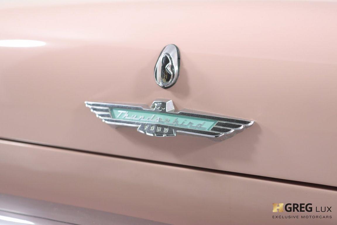 1957 Ford Thunderbird  #19