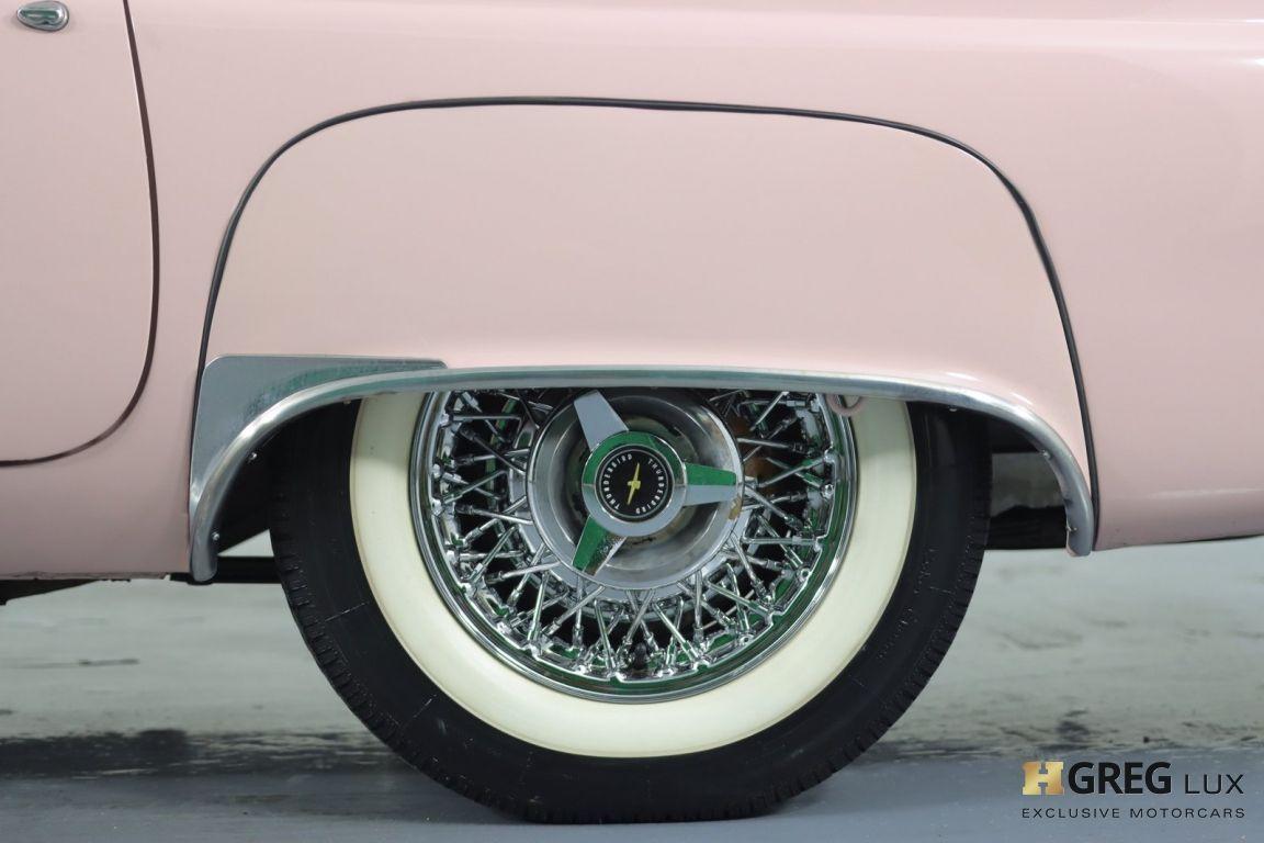 1957 Ford Thunderbird  #25