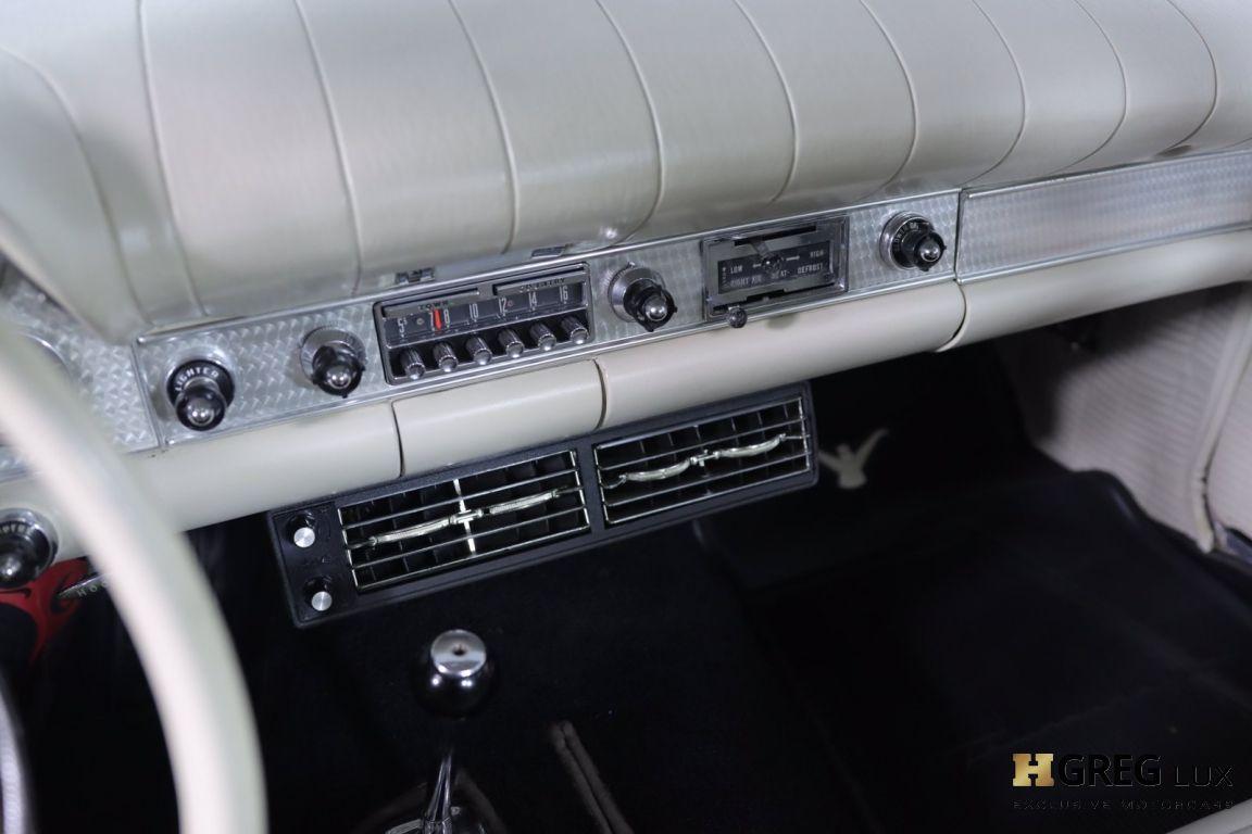 1957 Ford Thunderbird  #33