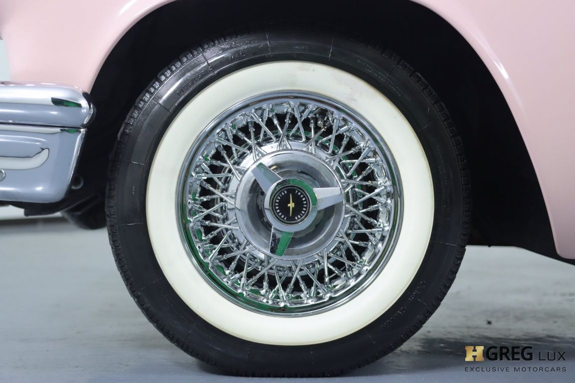 1957 Ford Thunderbird  #23