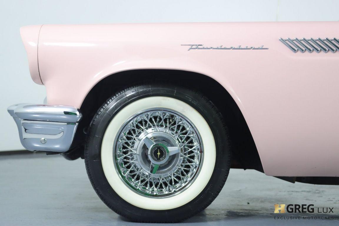1957 Ford Thunderbird  #22