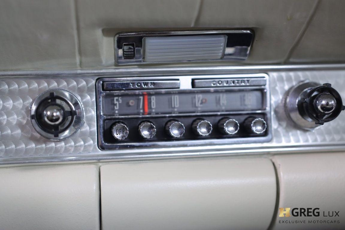 1957 Ford Thunderbird  #34
