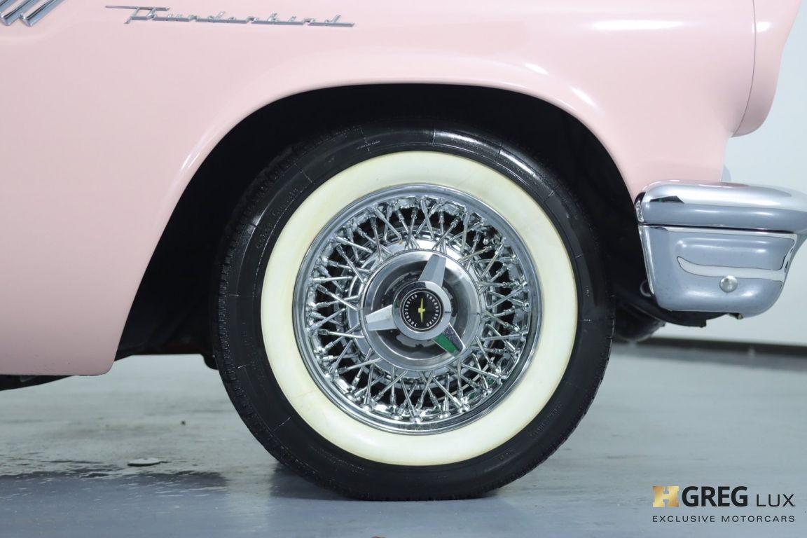 1957 Ford Thunderbird  #12