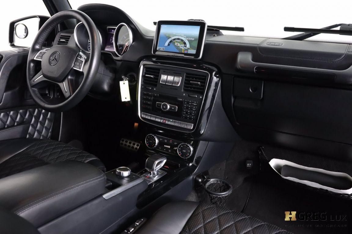 2015 Mercedes Benz G Class G 63 AMG #63