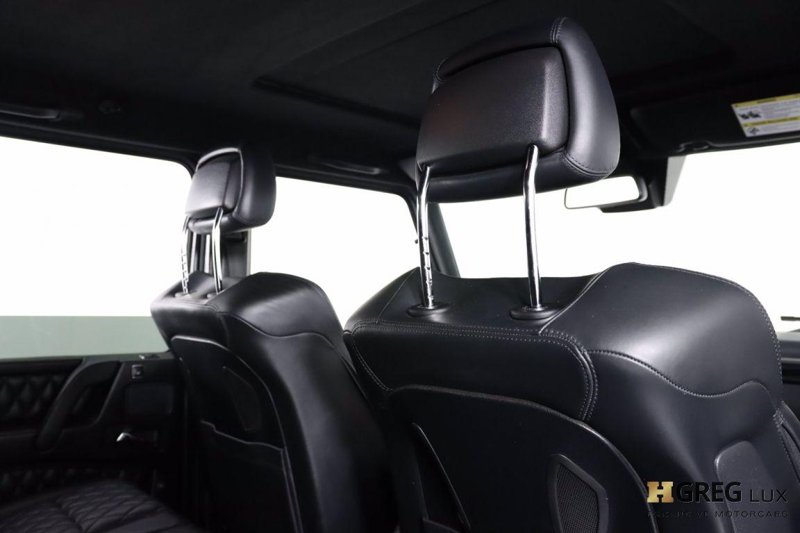 2015 Mercedes Benz G Class G 63 AMG #64
