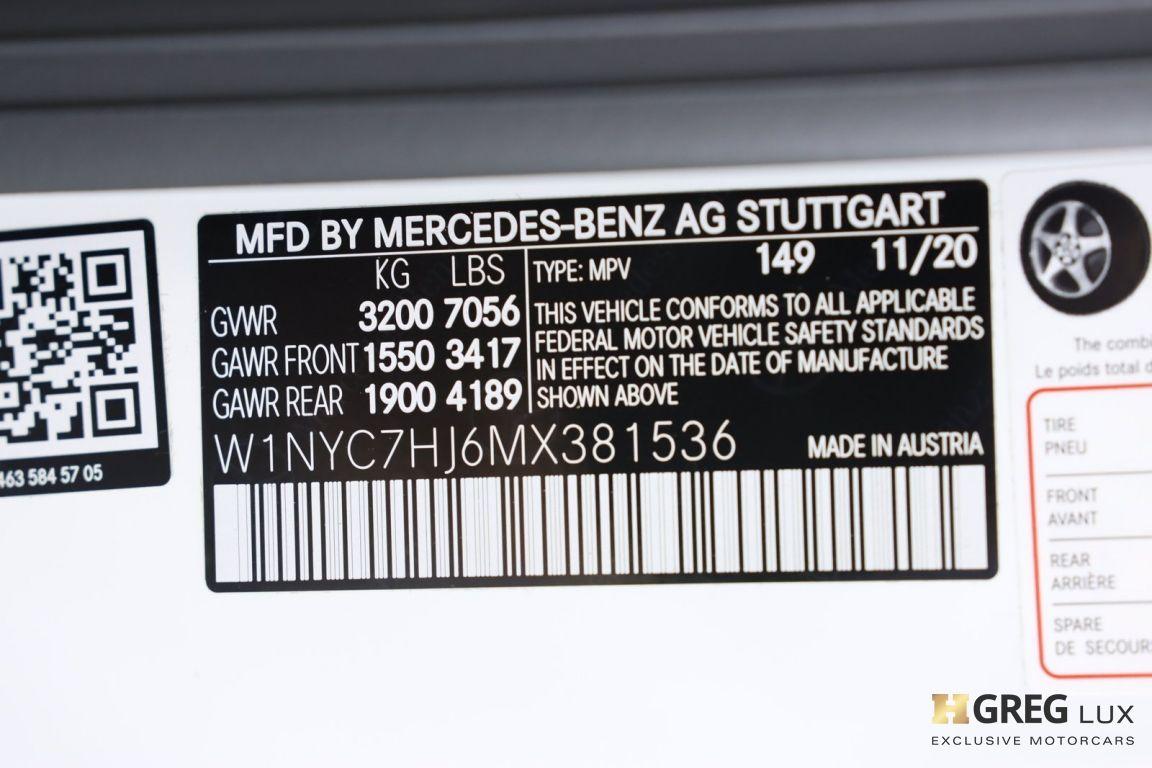 2021 Mercedes Benz G Class AMG G 63 #79