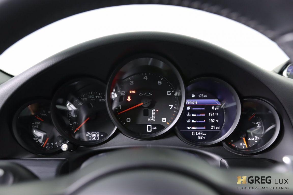 2017 Porsche 911 Carrera 4 GTS #59