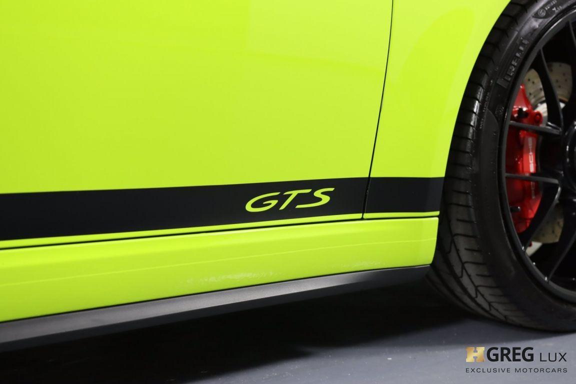 2017 Porsche 911 Carrera 4 GTS #17