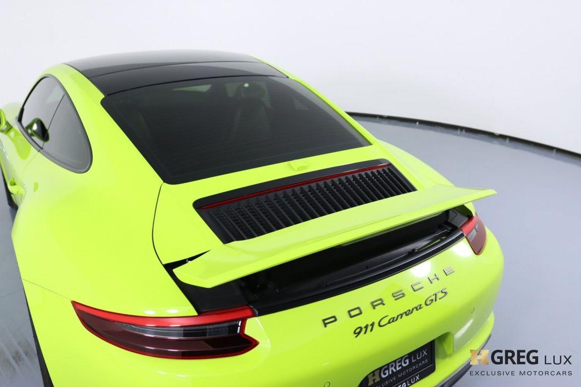 2017 Porsche 911 Carrera 4 GTS #23