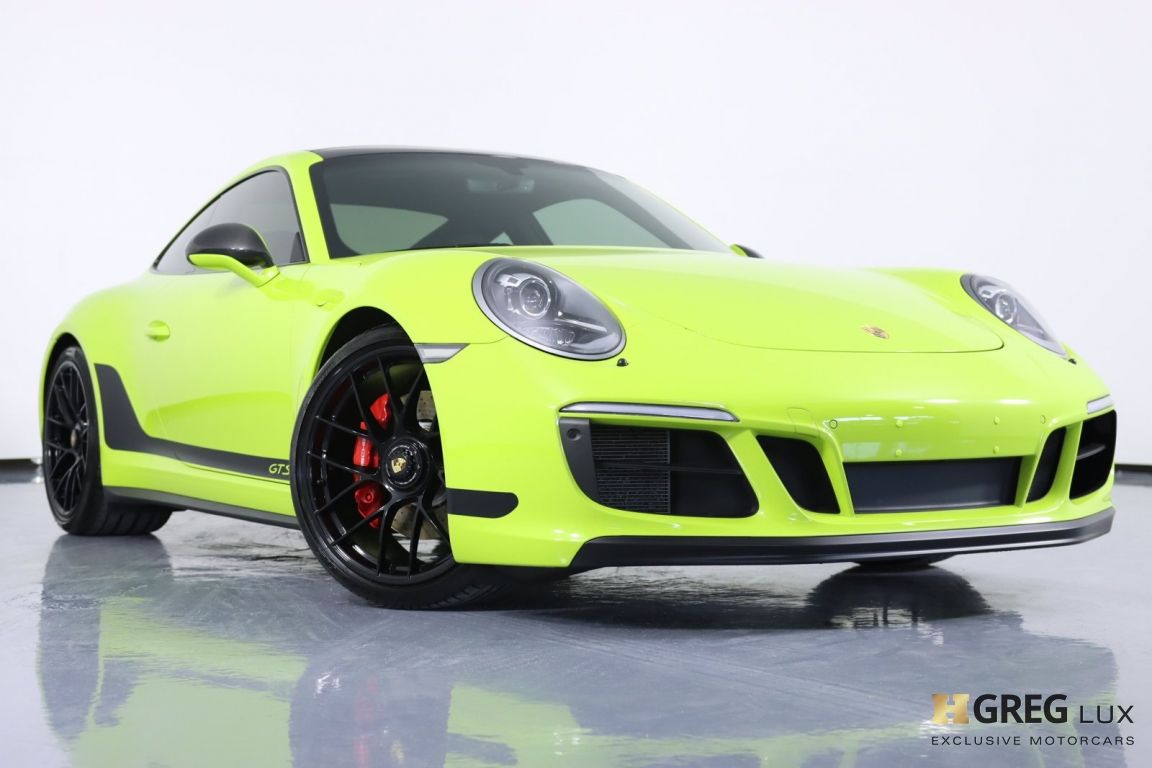 2017 Porsche 911 Carrera 4 GTS #33