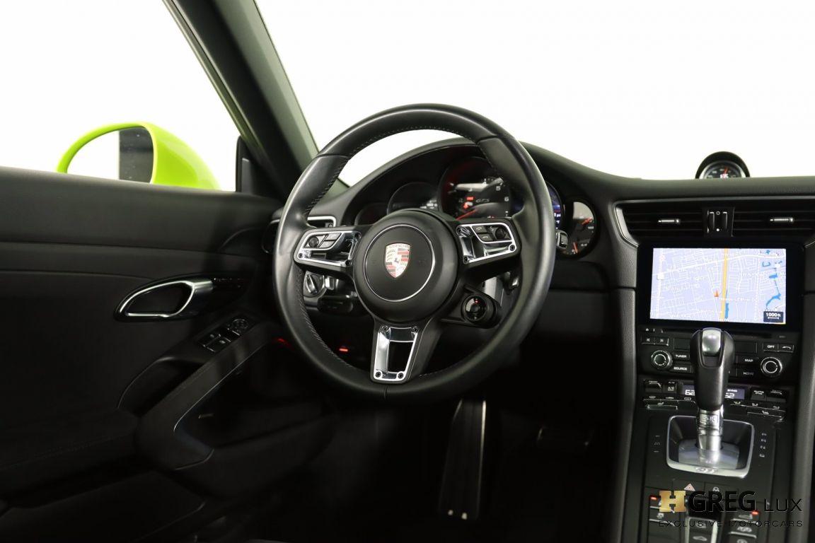 2017 Porsche 911 Carrera 4 GTS #55