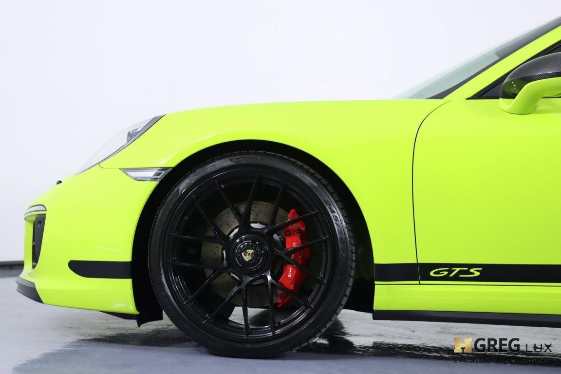 2017 Porsche 911 Carrera 4 GTS #26