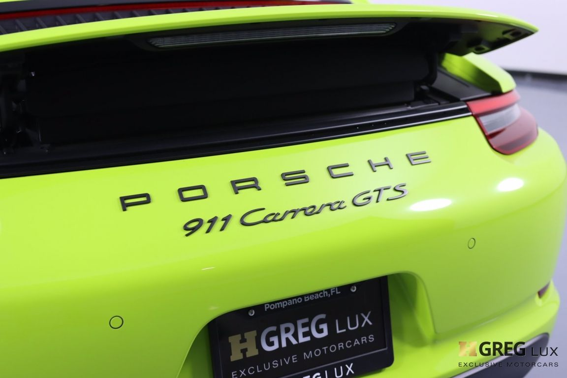 2017 Porsche 911 Carrera 4 GTS #22
