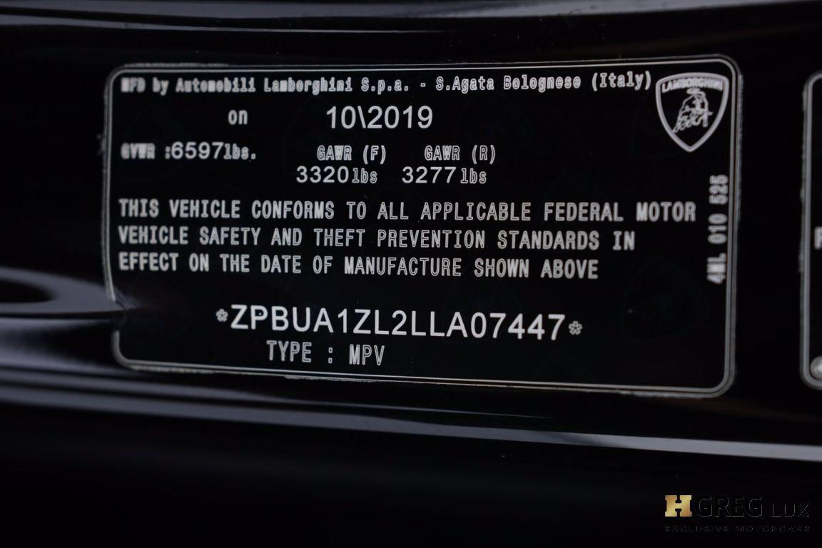 2020 Lamborghini Urus  #78