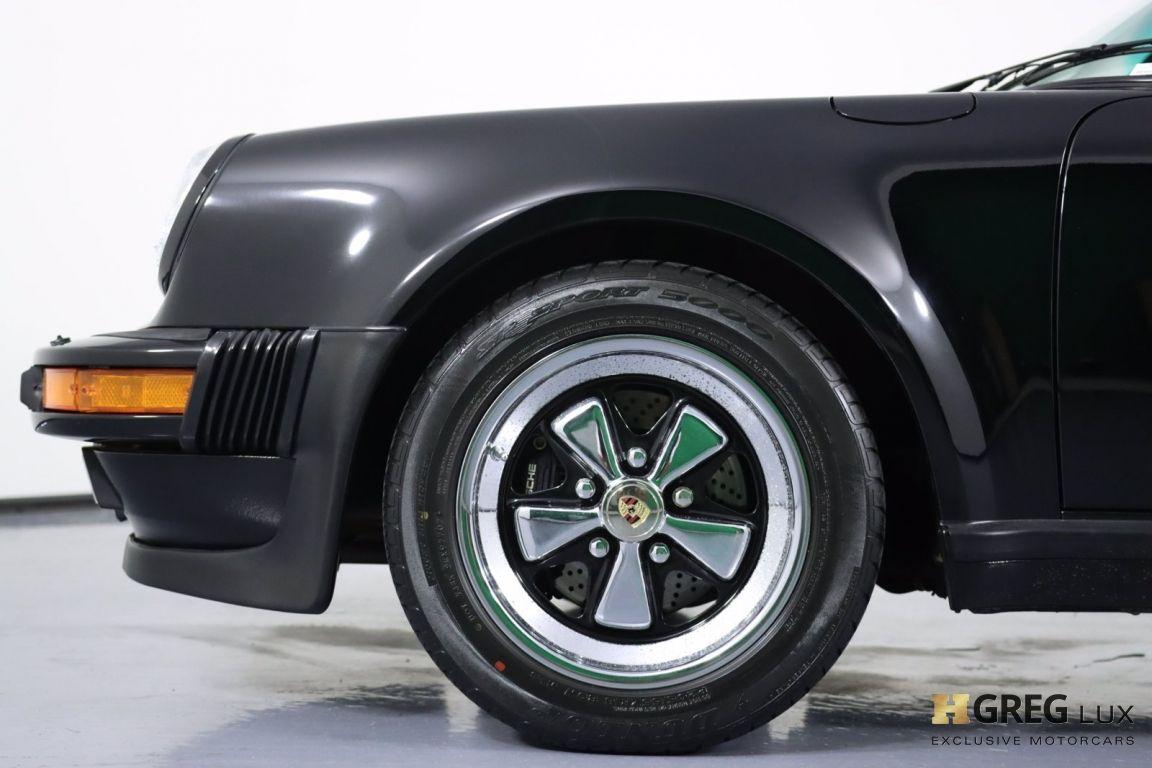 1987 Porsche 911 Turbo #20