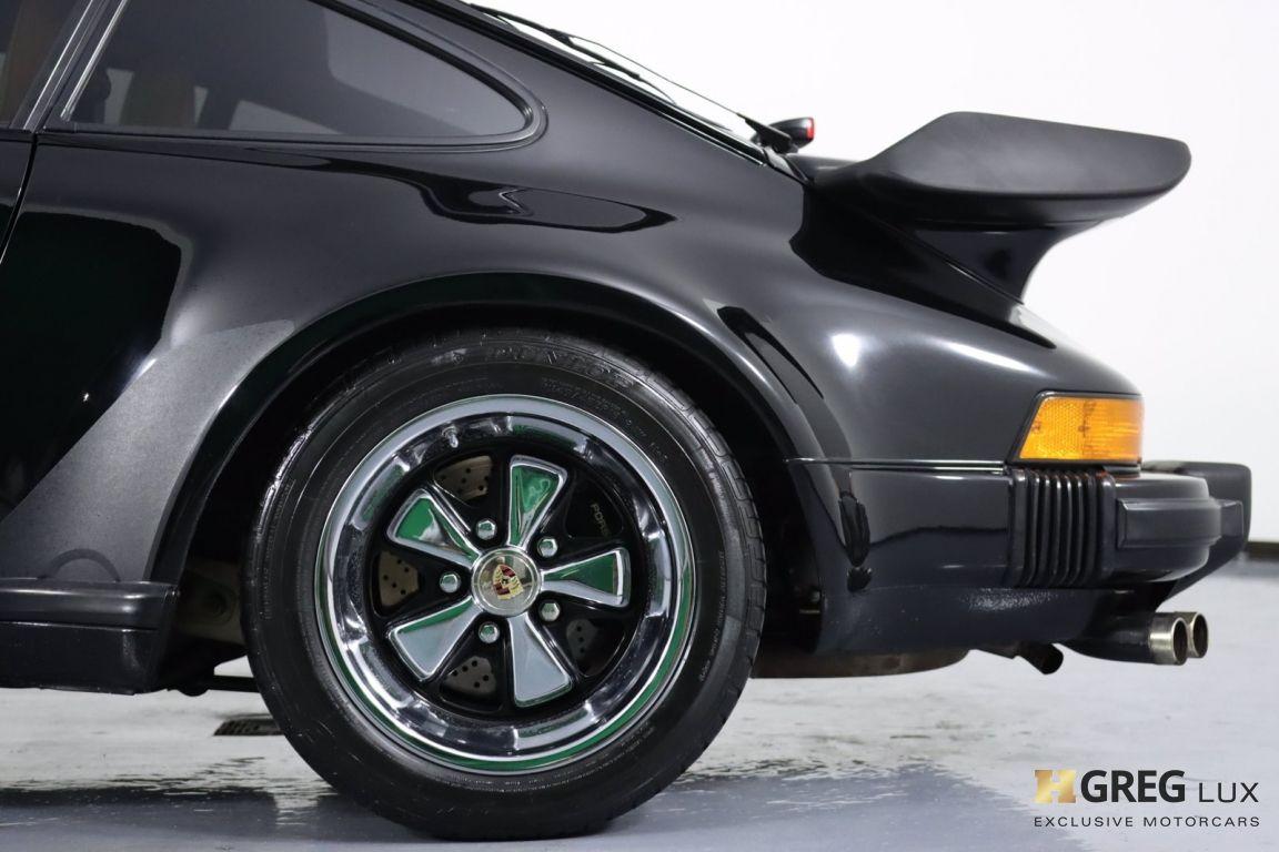 1987 Porsche 911 Turbo #22