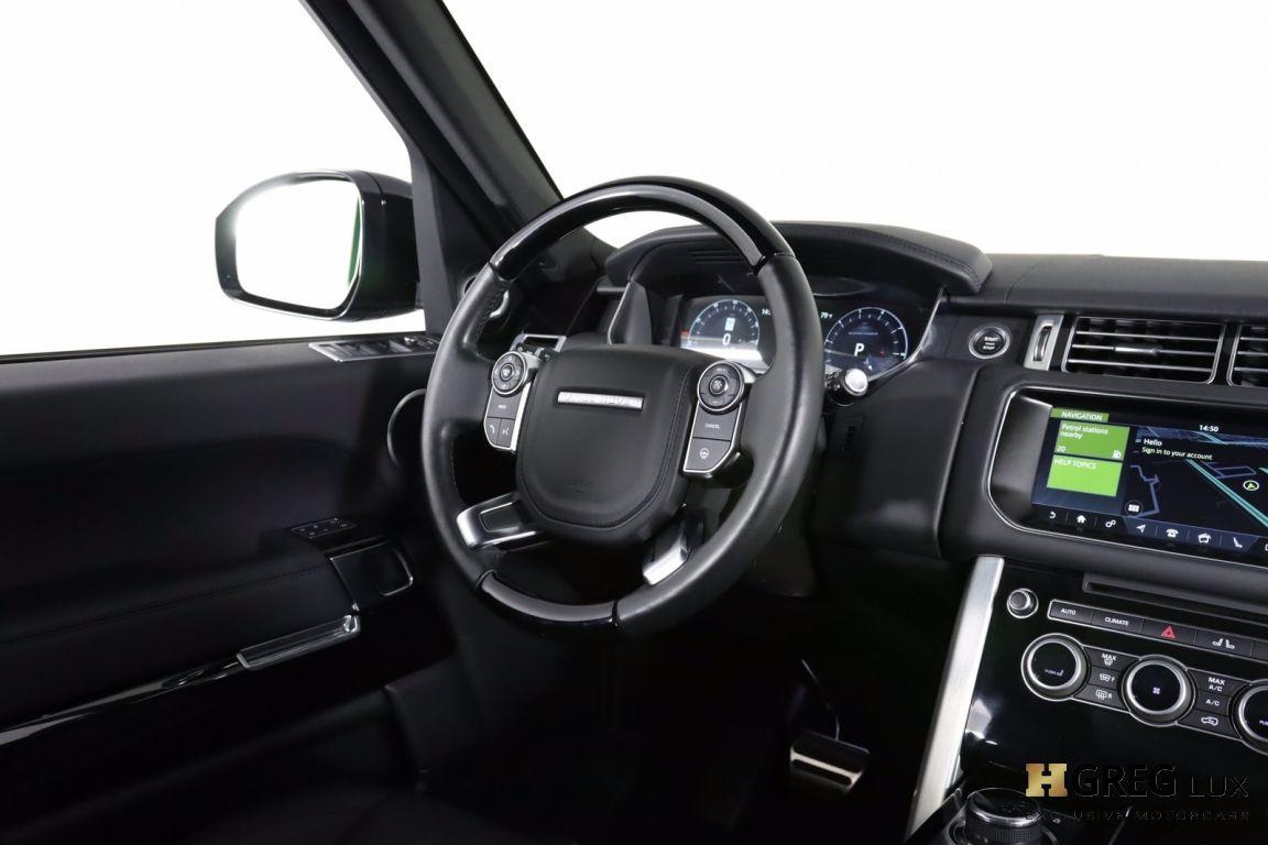 2017 Land Rover Range Rover 5.0L V8 Supercharged #52