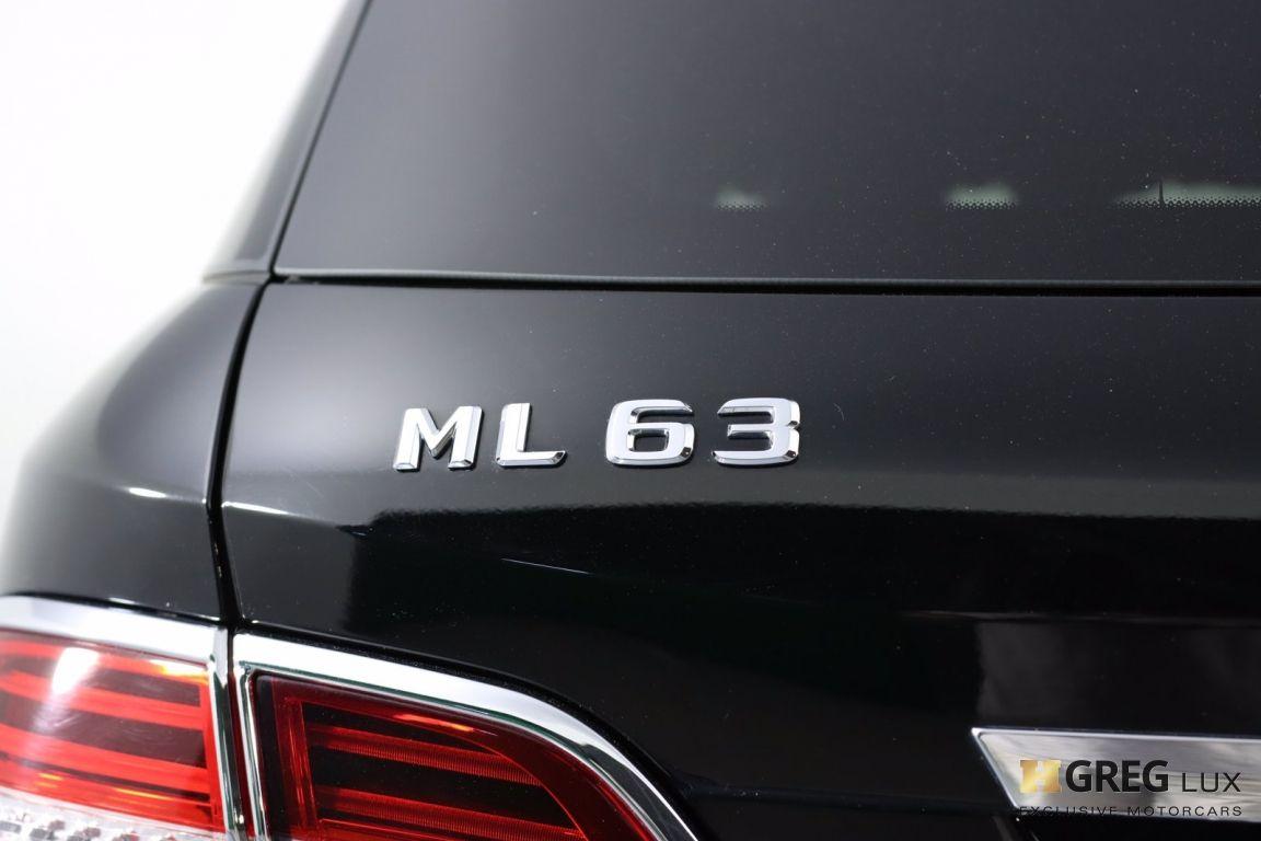 2014 Mercedes Benz M Class ML 63 AMG #24