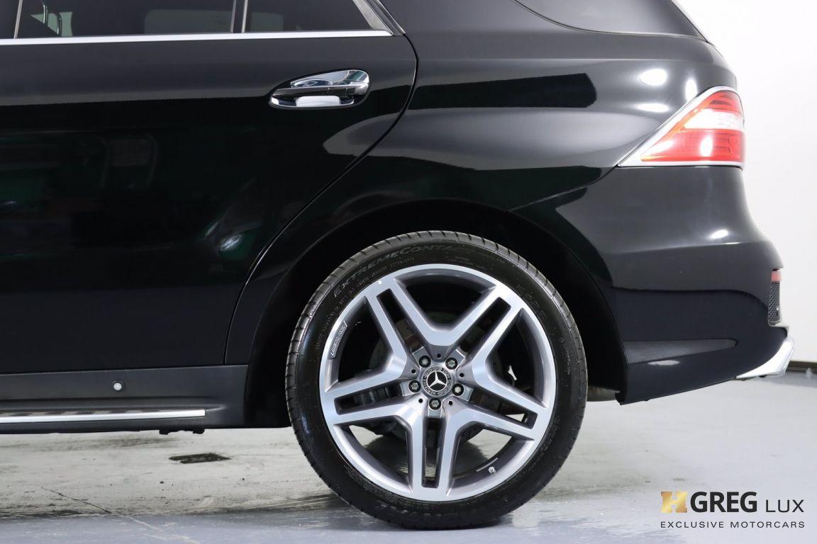 2014 Mercedes Benz M Class ML 63 AMG #30