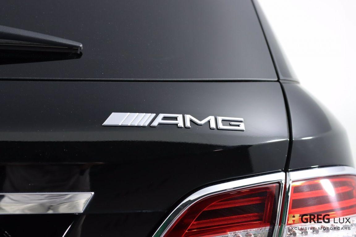 2014 Mercedes Benz M Class ML 63 AMG #23
