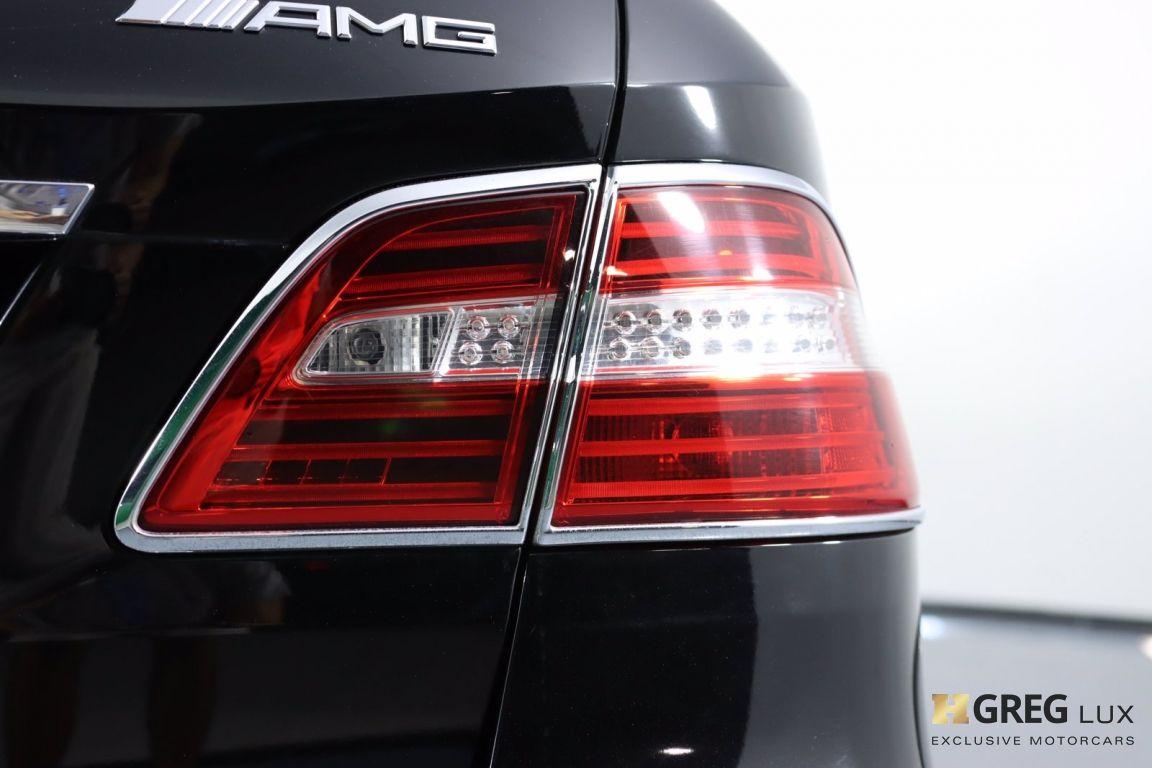 2014 Mercedes Benz M Class ML 63 AMG #21