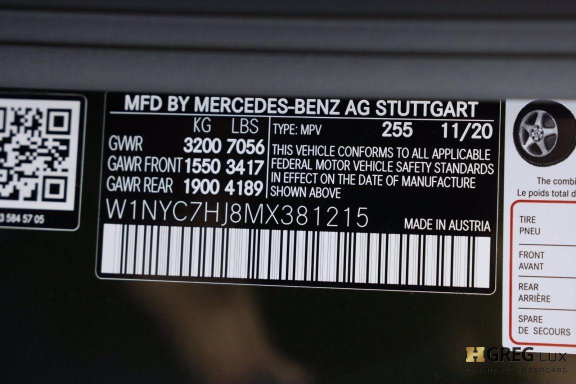 2021 Mercedes Benz G Class AMG G 63 #80