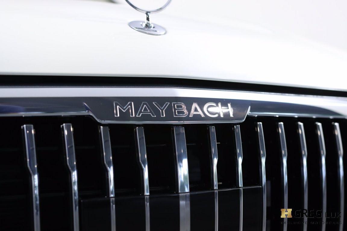 2021 Mercedes Benz GLS Maybach GLS 600 #7