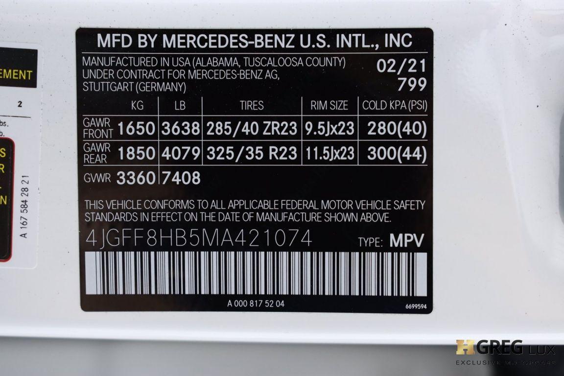 2021 Mercedes Benz GLS Maybach GLS 600 #81