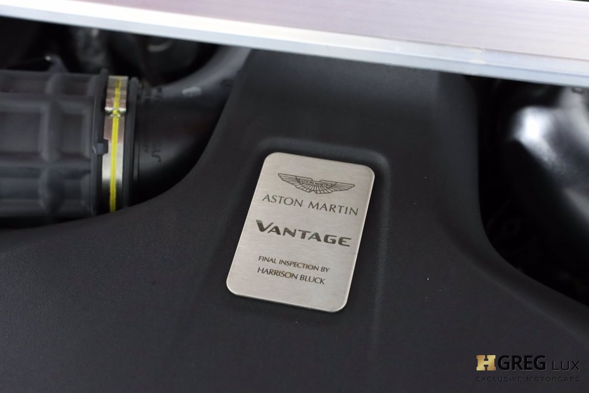 2020 Aston Martin Vantage Base #58