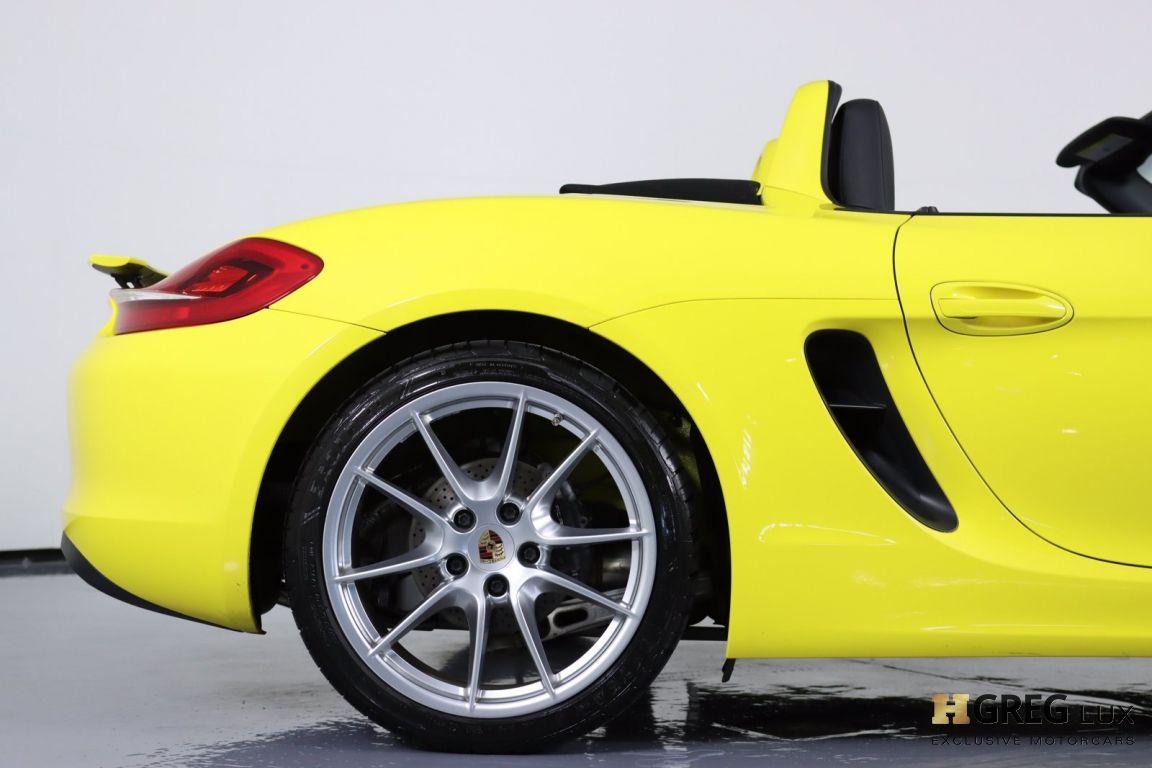 2014 Porsche Boxster  #15