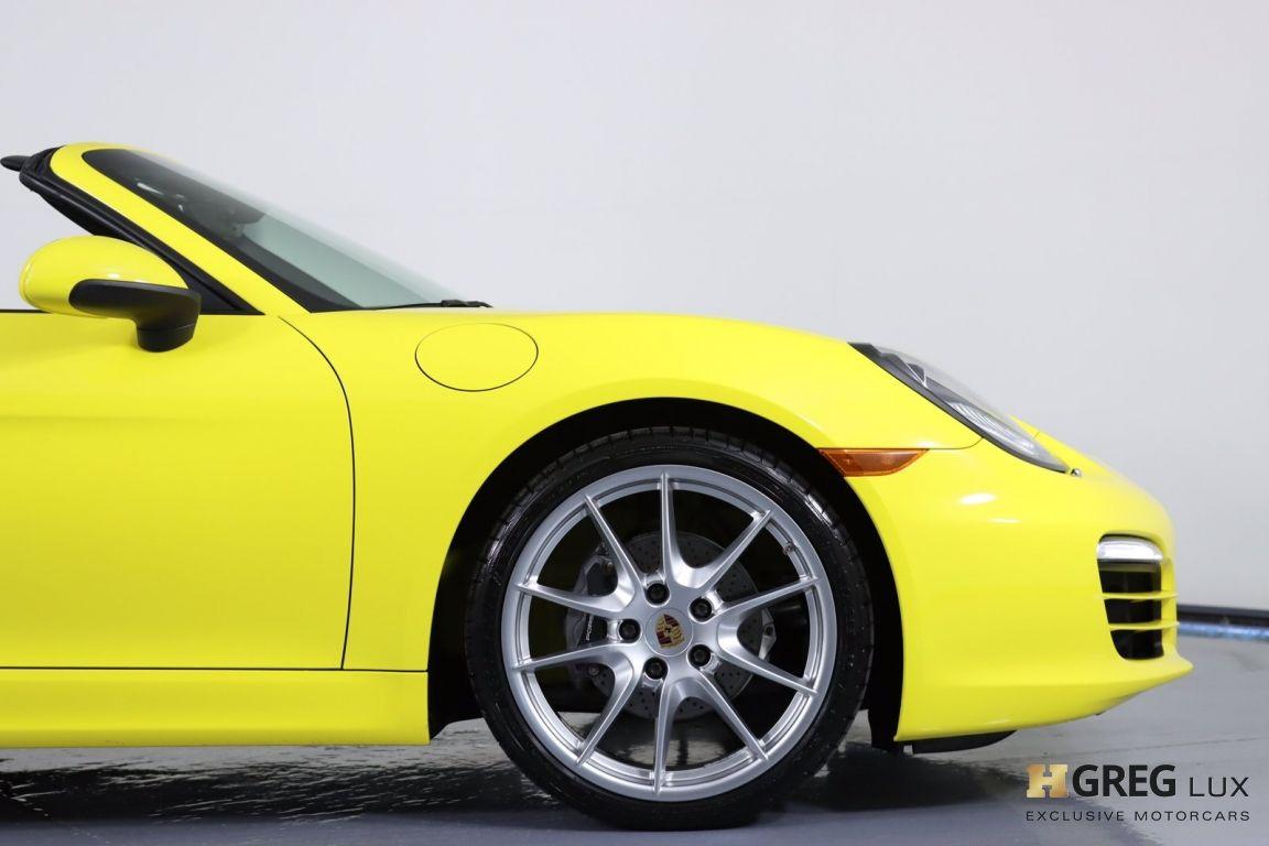 2014 Porsche Boxster  #12
