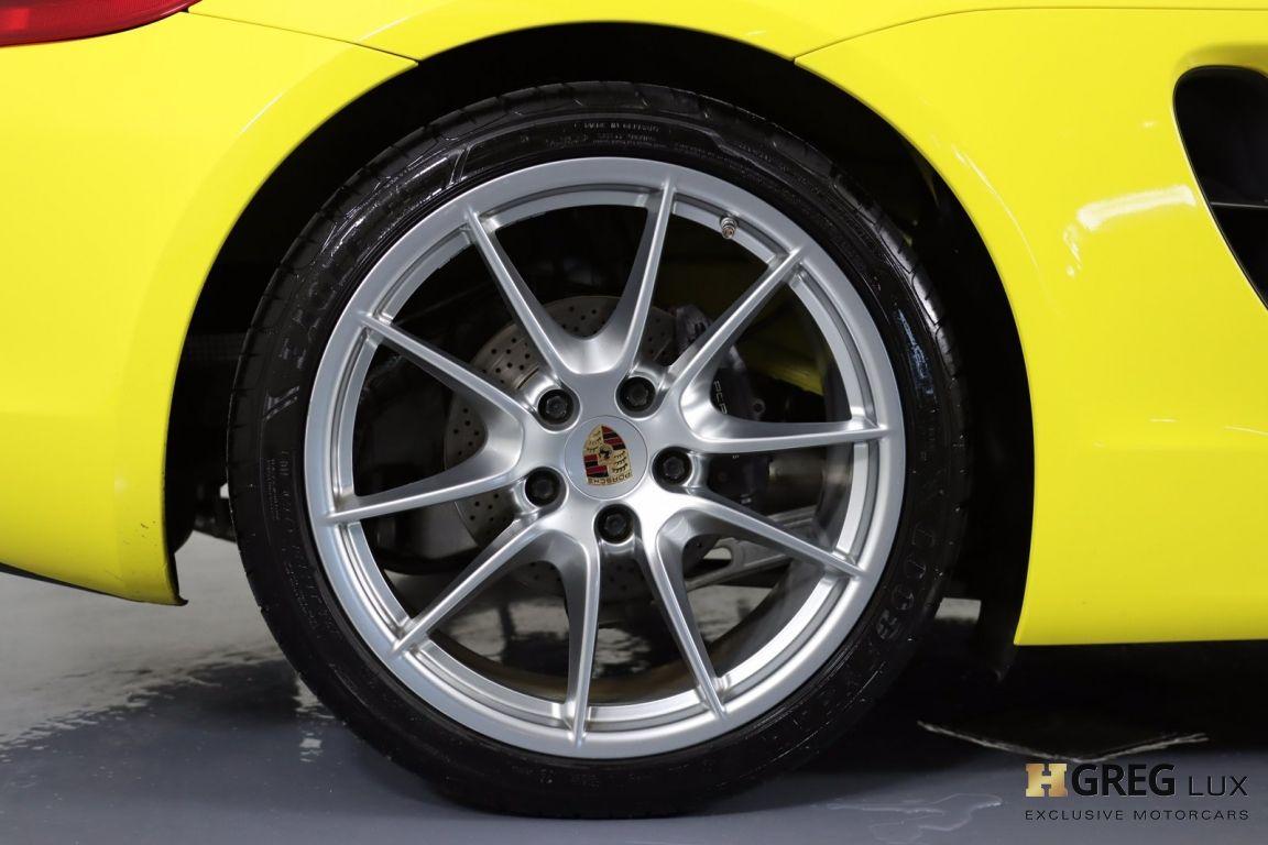2014 Porsche Boxster  #16