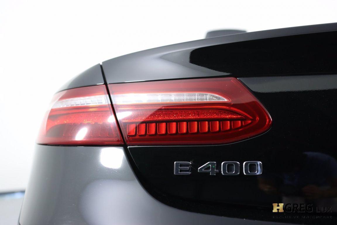 2018 Mercedes Benz E Class E 400 #17
