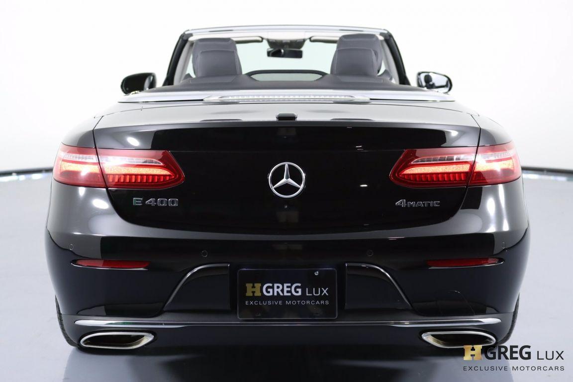 2018 Mercedes Benz E Class E 400 #16