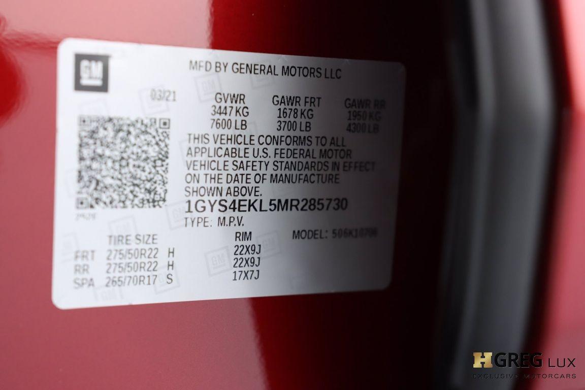 2021 Cadillac Escalade Sport #64