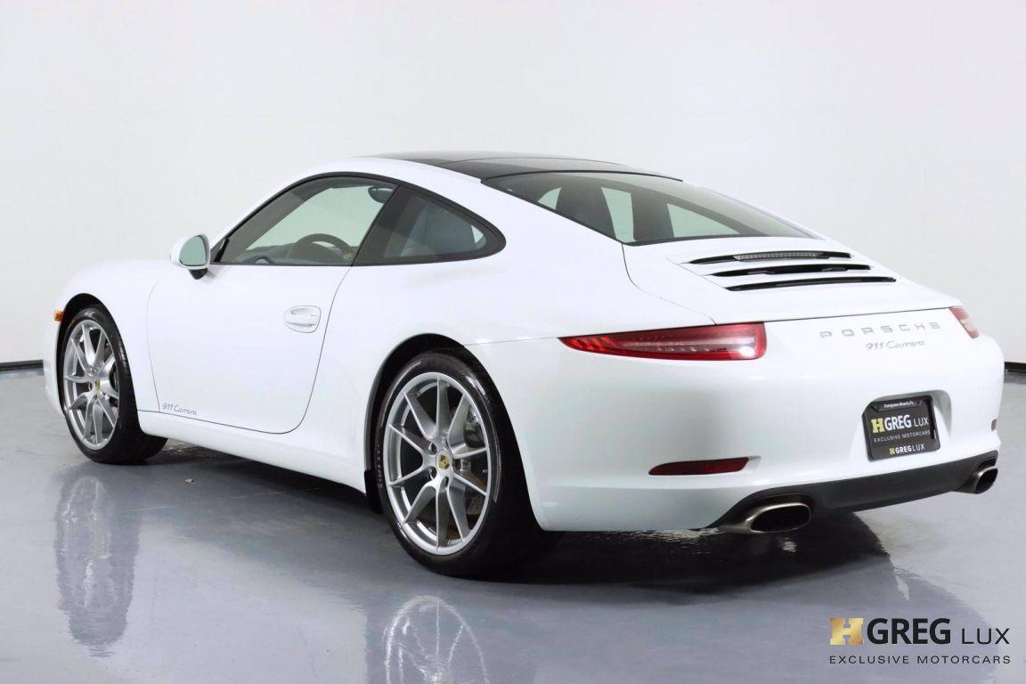 2014 Porsche 911 Carrera 4 #22