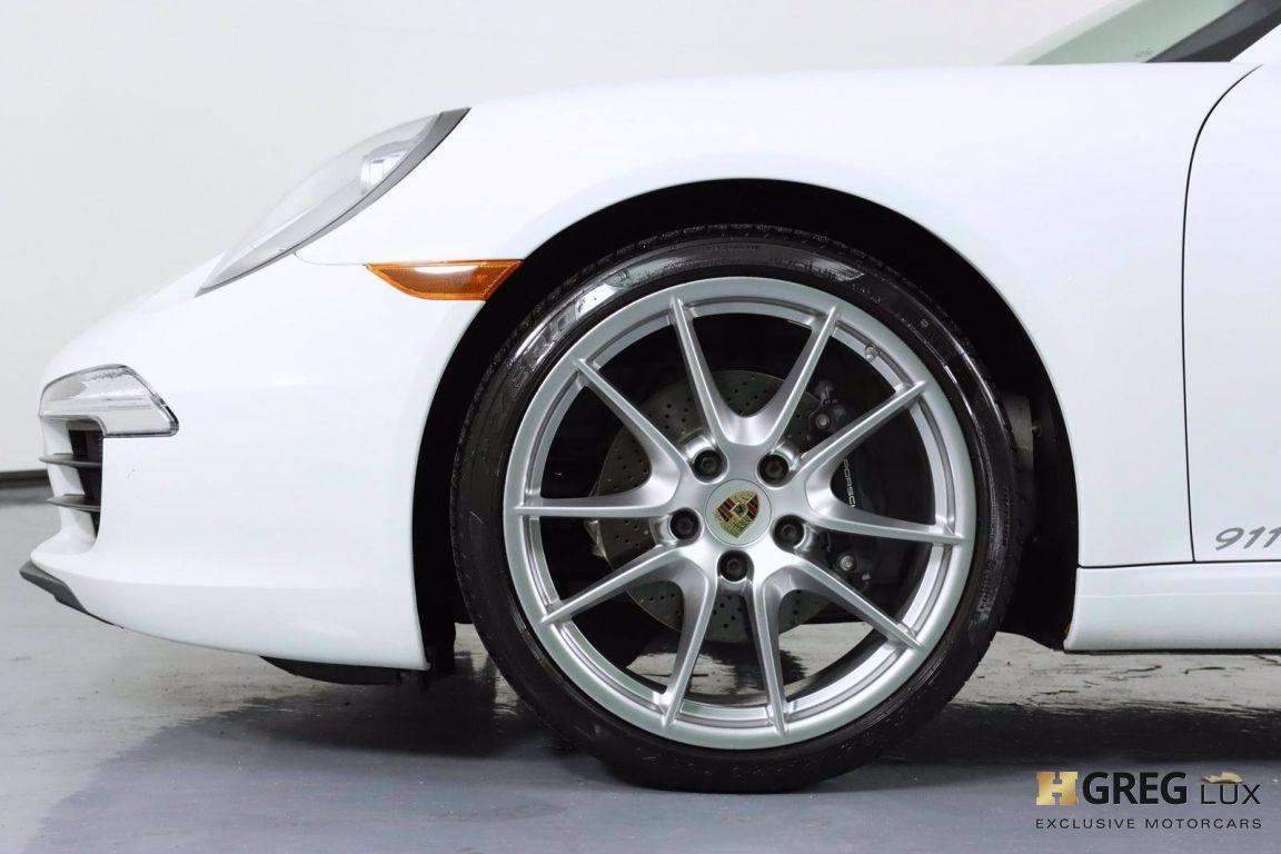 2014 Porsche 911 Carrera 4 #24