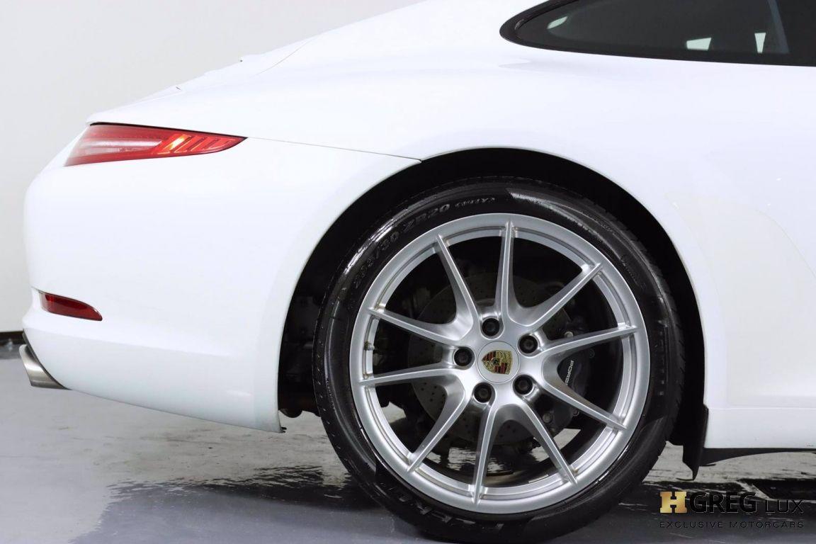 2014 Porsche 911 Carrera 4 #14