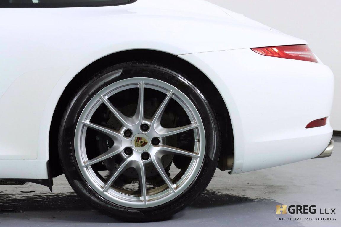2014 Porsche 911 Carrera 4 #26
