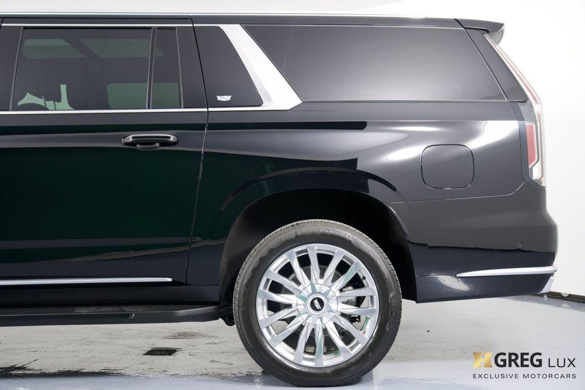 2021 Cadillac Escalade ESV Premium Luxury #28